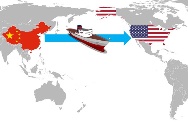 Envíos desde China a USA
